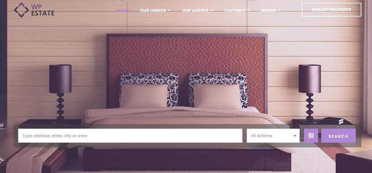 WpEstate real estate responsive WordPress theme