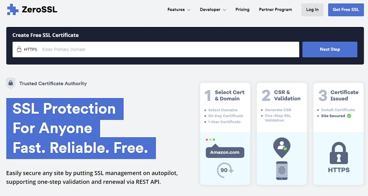 ZeroSSL - free SSL certificates for everyone.